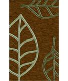 RugStudio presents Rugstudio Riley DL13 Caramel-Fern-Seaglass Machine Woven, Best Quality Area Rug