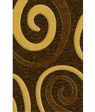 RugStudio presents Rugstudio Riley DL17 Mocha-Golddust-Caramel Machine Woven, Best Quality Area Rug