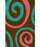RugStudio presents Rugstudio Riley DL17 Caramel-Peacock-Bubblishous Machine Woven, Best Quality Area Rug