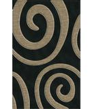 RugStudio presents Rugstudio Riley DL17 Black-Silver Machine Woven, Best Quality Area Rug