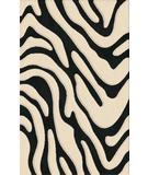 RugStudio presents Rugstudio Riley DL19 Black-Snow Machine Woven, Best Quality Area Rug