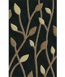 RugStudio presents Rugstudio Riley DL22 Black-Stone-Putty Machine Woven, Best Quality Area Rug