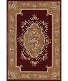 RugStudio presents Dalyn Galleria GL-1 Bordeaux Hand-Tufted, Good Quality Area Rug
