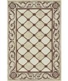 RugStudio presents Dalyn Galleria GL-11 Ivory Hand-Tufted, Good Quality Area Rug