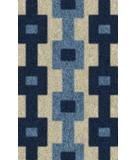 RugStudio presents Rugstudio Riley OP100-16 Frost-Mountain Lake-Deep Sea Area Rug