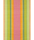 RugStudio presents Dash and Albert Parasol 54268 Stripe Flat-Woven Area Rug