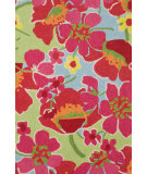 RugStudio presents Dash and Albert Power Poppies Hand-Hooked Area Rug