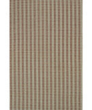 RugStudio presents Dash and Albert Train Tracks Cement Flat-Woven Area Rug