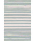 RugStudio presents Dash And Albert Beckham Stripe Light Blue Woven Area Rug