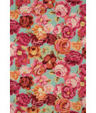 RugStudio presents Dash and Albert Kaffe Fassett Bed Of Roses Hand-Hooked Area Rug