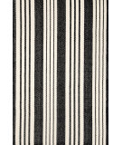 RugStudio presents Dash and Albert Birmingham 56161 Black Flat-Woven Area Rug