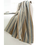 RugStudio presents Dash And Albert Blue Heron Throw
