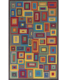 RugStudio presents Dash And Albert Box In Box  Woven Area Rug