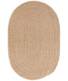 RugStudio presents Dash And Albert Natural 110821 Natural Braided Area Rug