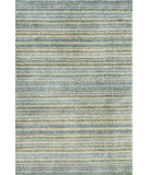 RugStudio presents Dash and Albert Brindle Stripe Sea Hand-Tufted, Good Quality Area Rug
