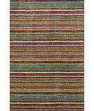 RugStudio presents Dash and Albert Brindle Stripe Hand-Tufted, Good Quality Area Rug