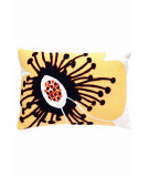 RugStudio presents Dash And Albert Cassia Fresh American Pillow Daffodil/Blue