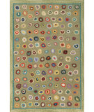RugStudio presents Dash and Albert Cat's Paw 56180 Sage Hand-Hooked Area Rug