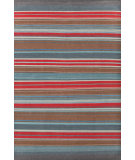 RugStudio presents Dash And Albert Chalet Stripe 105473 Woven Area Rug