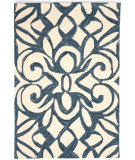 RugStudio presents Dash And Albert Chandelier Ink Blue Hand-Hooked Area Rug