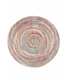 RugStudio presents Dash And Albert Cinnamon 86184 Braided Area Rug