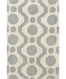 RugStudio presents Dash and Albert Circle Fret Hand-Tufted, Good Quality Area Rug