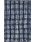 RugStudio presents Dash And Albert Coco Plaid Blue Flat-Woven Area Rug