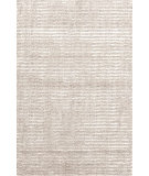 RugStudio presents Dash And Albert Cut Stripe 72652 Ivory Hand-Knotted, Good Quality Area Rug