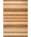 RugStudio presents Dash And Albert Desert 72654 Stripe Sisal/Seagrass/Jute Area Rug