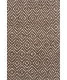RugStudio presents Dash and Albert Diamond 56190 Brown/Taupe Woven Area Rug
