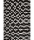 RugStudio presents Dash and Albert Diamond 56187 Black/Ivory Woven Area Rug