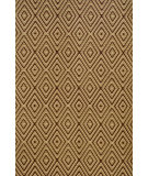 RugStudio presents Dash and Albert Diamond Brown/Khaki Woven Area Rug