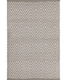RugStudio presents Dash And Albert Diamond 105494 Fieldstone/Ivory Flat-Woven Area Rug