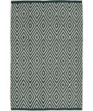 RugStudio presents Dash And Albert Diamond Geometric Ivory Pine Flat-Woven Area Rug