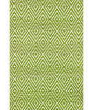RugStudio presents Dash and Albert Diamond 56197 Sprout/White Woven Area Rug