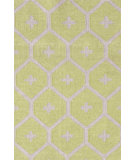 RugStudio presents Dash And Albert Elizabeth Green Area Rug