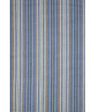 RugStudio presents Dash and Albert Evan Blue Flat-Woven Area Rug