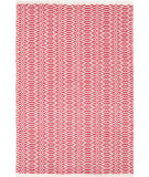RugStudio presents Dash And Albert Fair Isle Red/Ivory Woven Area Rug