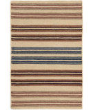 RugStudio presents Dash And Albert Feed Sack 72658 Stripe Woven Area Rug