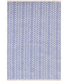 RugStudio presents Dash And Albert Fair Isle French Blue/Ivory Woven Area Rug