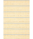 RugStudio presents Dash And Albert Fine Rag Yellow Woven Area Rug