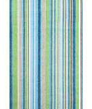 RugStudio presents Dash and Albert Fisher Ticking Flat-Woven Area Rug