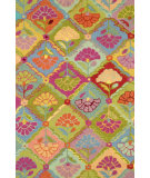 RugStudio presents Dash and Albert Kaffe Fassett Field Of Flowers Hand-Hooked Area Rug