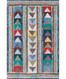 RugStudio presents Dash And Albert Follow The Arrows 64416 Multi Hand-Hooked Area Rug