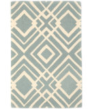 RugStudio presents Dash And Albert Gracie Rda385 Blue Hand-Tufted, Good Quality Area Rug
