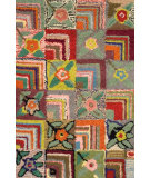 RugStudio presents Dash and Albert Gypsy Rose Hand-Hooked Area Rug