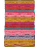 RugStudio presents Dash And Albert Gypsy Stripe Flat-Woven Area Rug