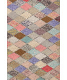 RugStudio presents Dash And Albert Harlequin Multi Hand-Hooked Area Rug