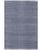 RugStudio presents Dash And Albert Herringbone Indigo Woven Area Rug
