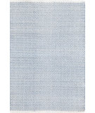RugStudio presents Dash And Albert Herringbone Swedish Blue Woven Area Rug
